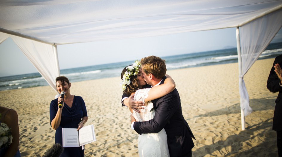 Beach Wedding Celebrant | Hoi An, Vietnam