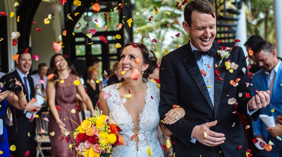 High-end Wedding with Flower Petal Sendoff | Hoi An, Vietnam