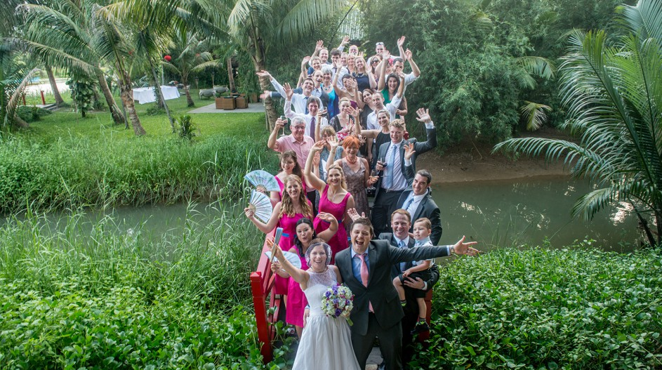 Riverside Wedding Party | Hoi An, Vietnam