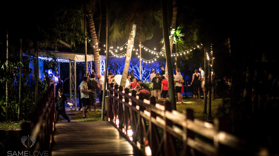 Same Sex Tropical Destination Wedding Reception| Hoi An, Vietnam