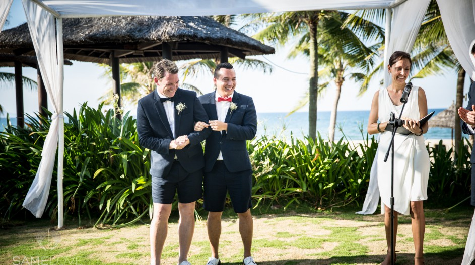 Same Sex Destination Wedding Ceremony & Celebrant | Hoi An, Vietnam