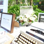 Vintage Wedding Style with Decorative Typewriter | Hoi An, Vietnam