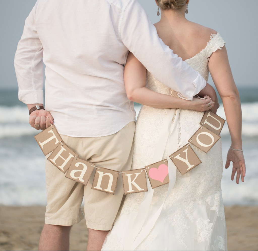 Beach Wedding Thank You Message | Hoi An, Vietnam
