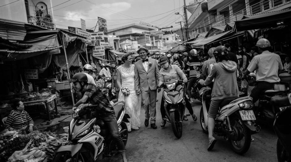 Phu Quoc walking around the market