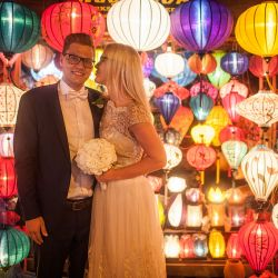 Kristen & Ragner HoiAn Wedding